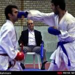 مسابقات کاراته دانشگاه پیام نور در قزوین